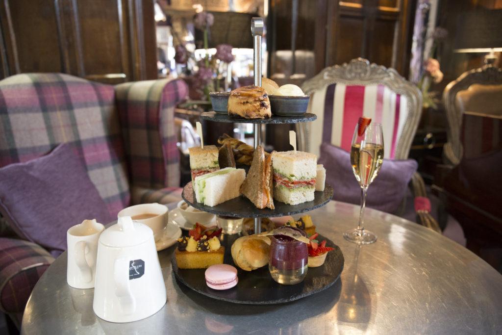 Afternoon Tea at Mitton Hall, Lancashire