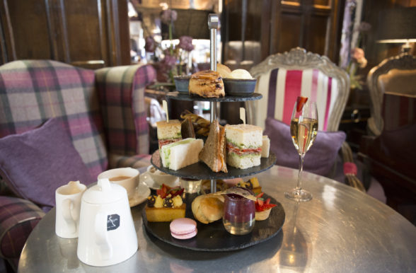 Afternoon Tea at Mitton Hall, Lancashire